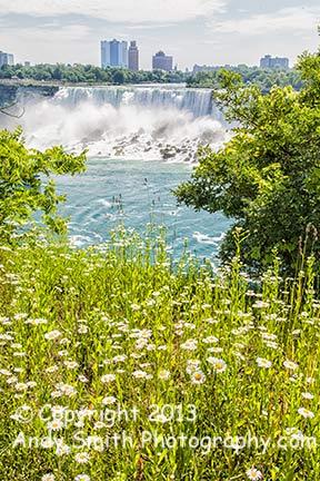 The American Falls at Niagara