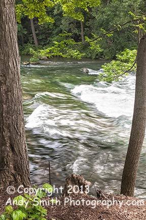 Flowing Toward Bridal Veil Falls