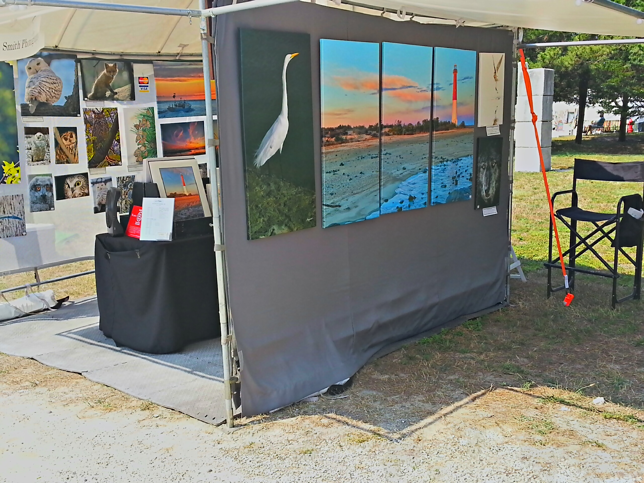 My booth at LBI