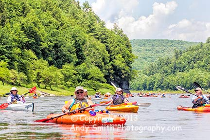 Paddling the Upper Delaware