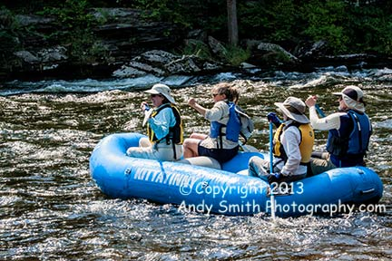 Rafting on the Lackawaxen