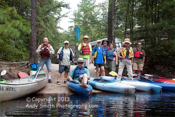 The Group from CBC on the Wading River