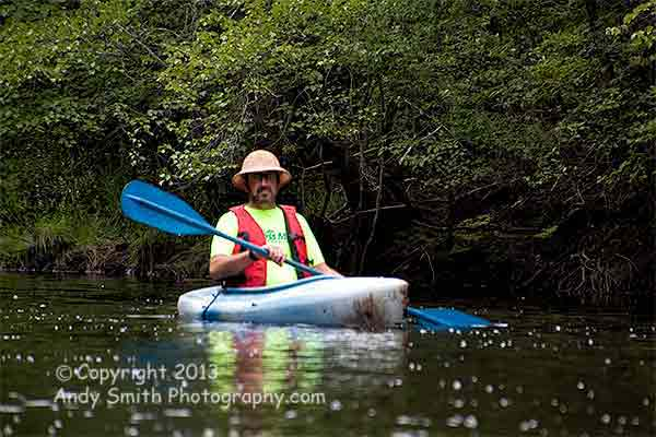 Neal on the Wading River