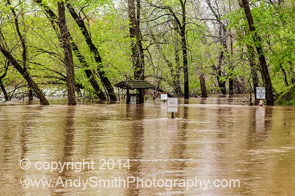 The Betzwood Trail Under Water